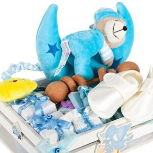 erkek bebek çikolatası kutusu